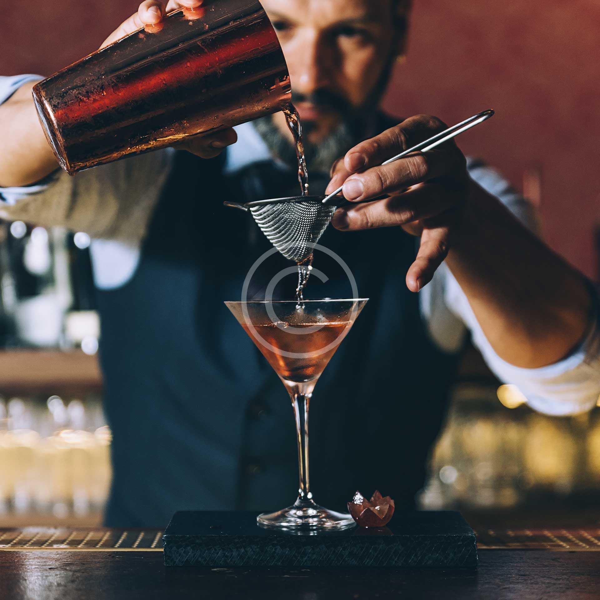 Pink Sorrento Cocktail